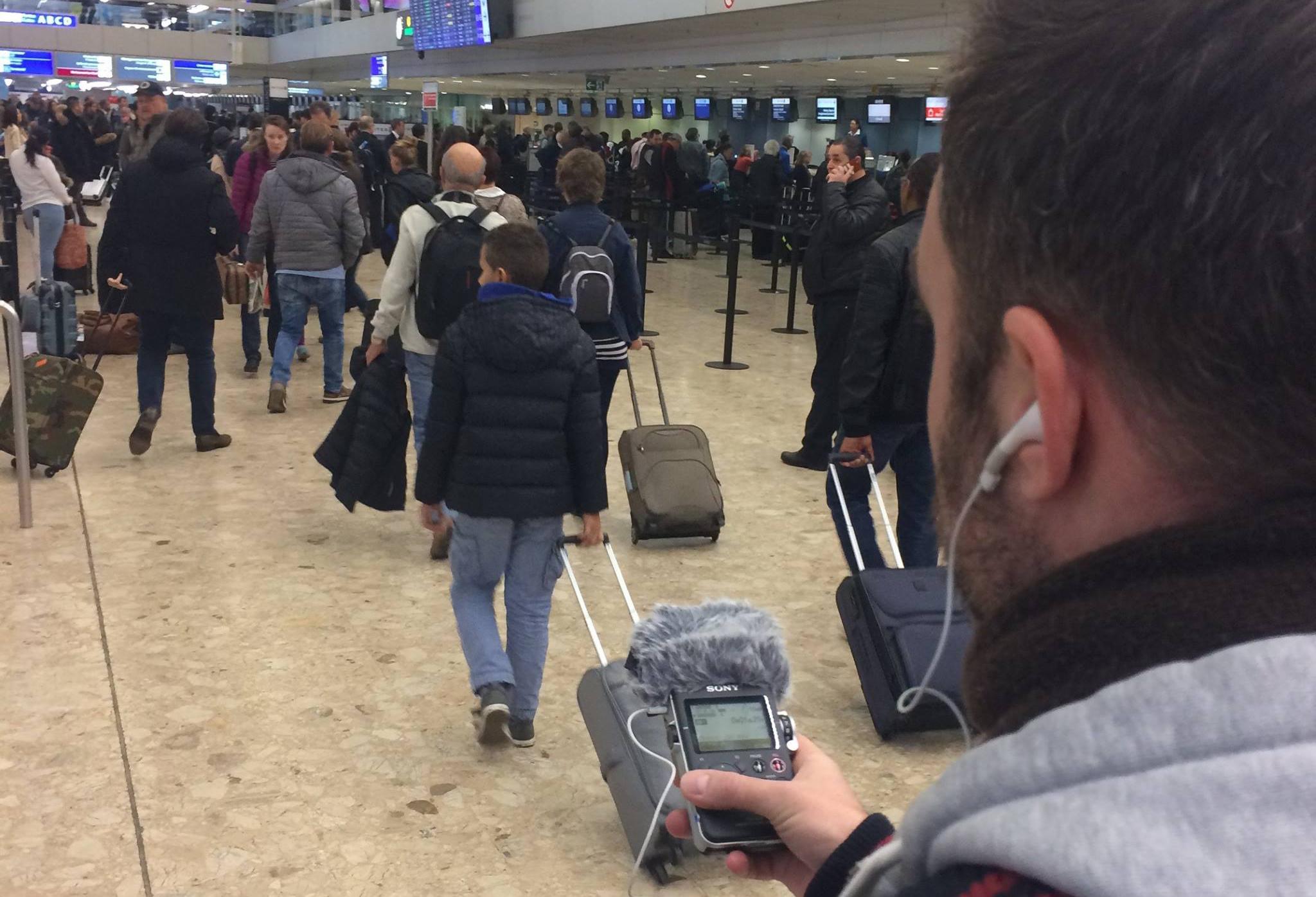 Prise de son SFX Aeroport
