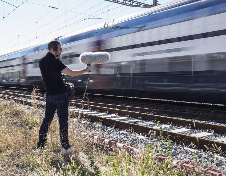 Prise de son SFX Train
