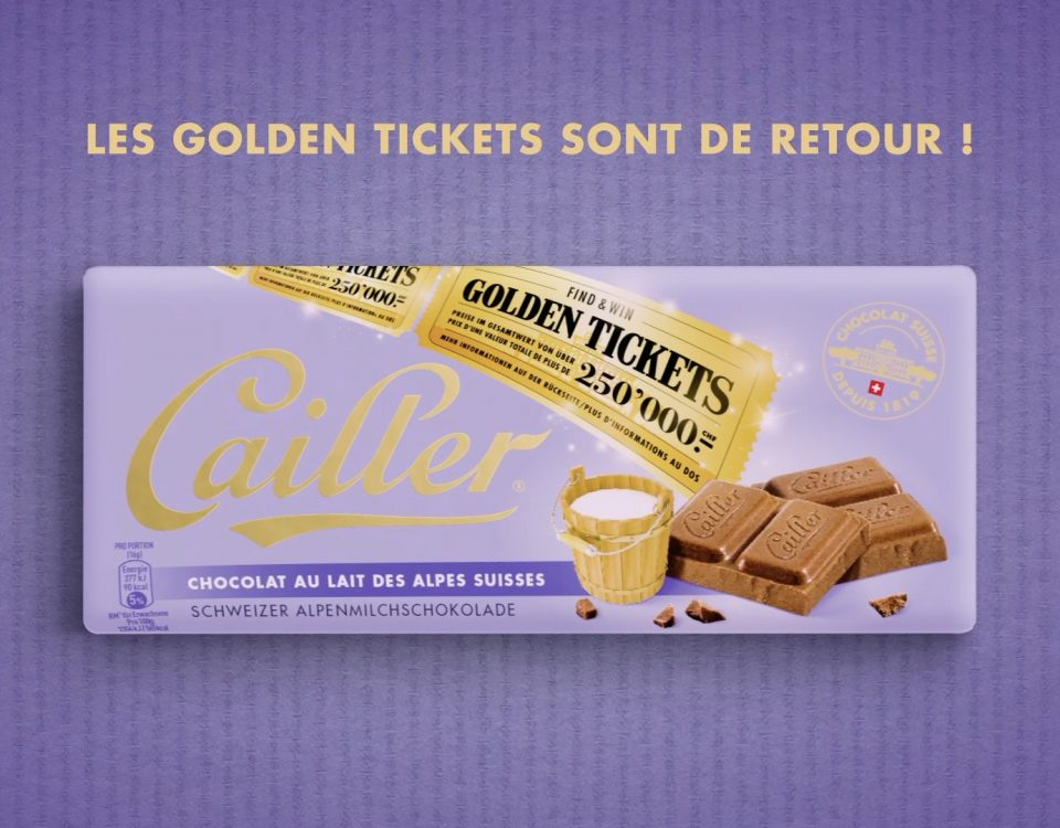 Cailler - Golden Ticket