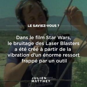 La saviez-vous 01 - Star Wars - Laser Blaster